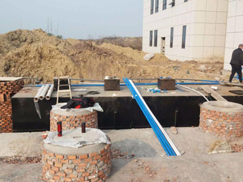 枣庄地埋式一体化食品污水处理工程